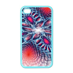 Creative Abstract Apple Iphone 4 Case (color)