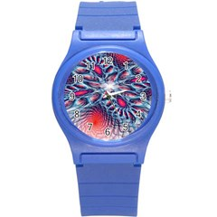 Creative Abstract Round Plastic Sport Watch (s) by BangZart