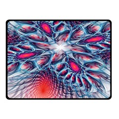Creative Abstract Double Sided Fleece Blanket (small)  by BangZart