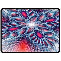 Creative Abstract Double Sided Fleece Blanket (large)
