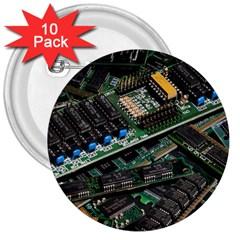 Computer Ram Tech 3  Buttons (10 Pack)