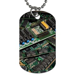 Computer Ram Tech Dog Tag (two Sides) by BangZart