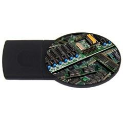 Computer Ram Tech Usb Flash Drive Oval (2 Gb) by BangZart
