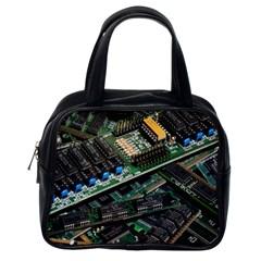 Computer Ram Tech Classic Handbags (one Side) by BangZart