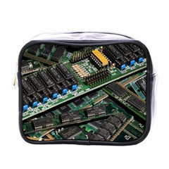 Computer Ram Tech Mini Toiletries Bags by BangZart