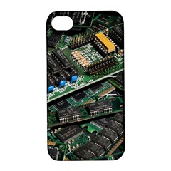 Computer Ram Tech Apple Iphone 4/4s Hardshell Case With Stand by BangZart