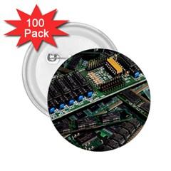 Computer Ram Tech 2 25  Buttons (100 Pack)
