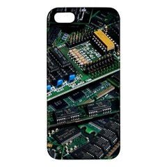 Computer Ram Tech Apple Iphone 5 Premium Hardshell Case by BangZart