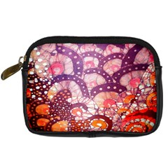 Colorful Art Traditional Batik Pattern Digital Camera Cases by BangZart