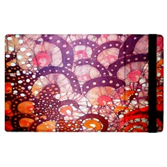 Colorful Art Traditional Batik Pattern Apple Ipad 3/4 Flip Case by BangZart