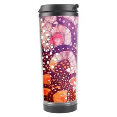 Colorful Art Traditional Batik Pattern Travel Tumbler