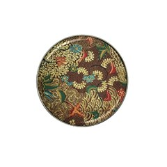 Colorful The Beautiful Of Art Indonesian Batik Pattern Hat Clip Ball Marker (4 Pack) by BangZart