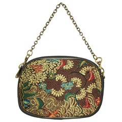 Colorful The Beautiful Of Art Indonesian Batik Pattern Chain Purses (one Side)  by BangZart