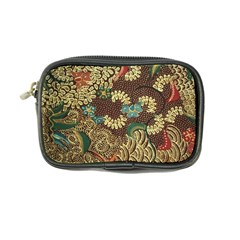 Colorful The Beautiful Of Art Indonesian Batik Pattern Coin Purse by BangZart