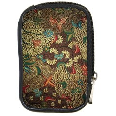 Colorful The Beautiful Of Art Indonesian Batik Pattern Compact Camera Cases by BangZart