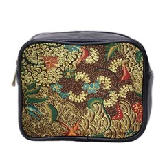 Colorful The Beautiful Of Art Indonesian Batik Pattern Mini Toiletries Bag 2 Side by BangZart