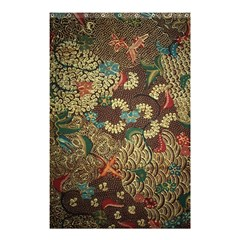 Colorful The Beautiful Of Art Indonesian Batik Pattern Shower Curtain 48  X 72  (small)  by BangZart