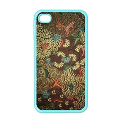 Colorful The Beautiful Of Art Indonesian Batik Pattern Apple Iphone 4 Case (color)