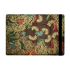 Colorful The Beautiful Of Art Indonesian Batik Pattern Apple Ipad Mini Flip Case by BangZart