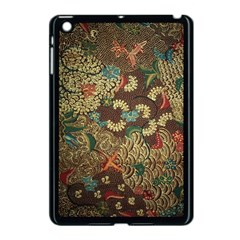 Colorful The Beautiful Of Art Indonesian Batik Pattern Apple Ipad Mini Case (black) by BangZart