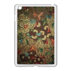 Colorful The Beautiful Of Art Indonesian Batik Pattern Apple Ipad Mini Case (white) by BangZart