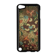 Colorful The Beautiful Of Art Indonesian Batik Pattern Apple Ipod Touch 5 Case (black) by BangZart
