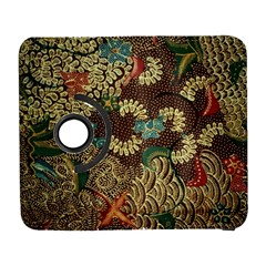Colorful The Beautiful Of Art Indonesian Batik Pattern Galaxy S3 (flip/folio) by BangZart