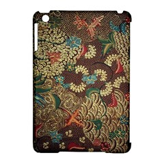 Colorful The Beautiful Of Art Indonesian Batik Pattern Apple Ipad Mini Hardshell Case (compatible With Smart Cover)