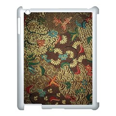 Colorful The Beautiful Of Art Indonesian Batik Pattern Apple Ipad 3/4 Case (white)