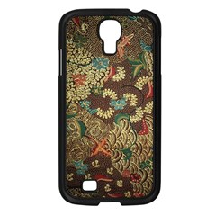 Colorful The Beautiful Of Art Indonesian Batik Pattern Samsung Galaxy S4 I9500/ I9505 Case (black) by BangZart
