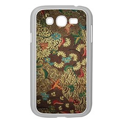 Colorful The Beautiful Of Art Indonesian Batik Pattern Samsung Galaxy Grand Duos I9082 Case (white) by BangZart