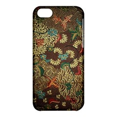 Colorful The Beautiful Of Art Indonesian Batik Pattern Apple Iphone 5c Hardshell Case by BangZart