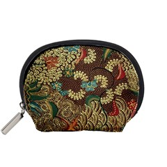 Colorful The Beautiful Of Art Indonesian Batik Pattern Accessory Pouches (small)  by BangZart