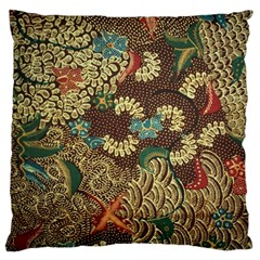 Colorful The Beautiful Of Art Indonesian Batik Pattern Standard Flano Cushion Case (two Sides) by BangZart