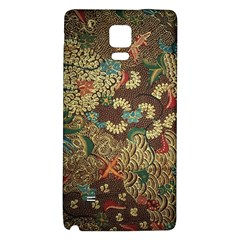 Colorful The Beautiful Of Art Indonesian Batik Pattern Galaxy Note 4 Back Case