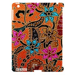 Colorful The Beautiful Of Art Indonesian Batik Pattern(1) Apple Ipad 3/4 Hardshell Case (compatible With Smart Cover) by BangZart