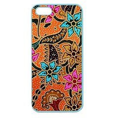 Colorful The Beautiful Of Art Indonesian Batik Pattern(1) Apple Seamless Iphone 5 Case (color)