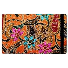 Colorful The Beautiful Of Art Indonesian Batik Pattern(1) Apple Ipad 3/4 Flip Case