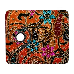 Colorful The Beautiful Of Art Indonesian Batik Pattern(1) Galaxy S3 (flip/folio) by BangZart