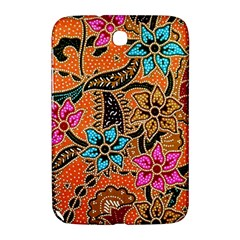 Colorful The Beautiful Of Art Indonesian Batik Pattern(1) Samsung Galaxy Note 8 0 N5100 Hardshell Case  by BangZart