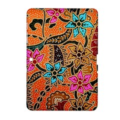 Colorful The Beautiful Of Art Indonesian Batik Pattern(1) Samsung Galaxy Tab 2 (10 1 ) P5100 Hardshell Case  by BangZart