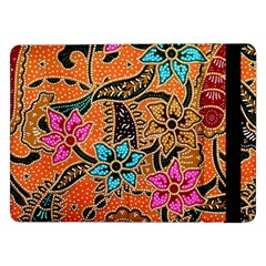 Colorful The Beautiful Of Art Indonesian Batik Pattern(1) Samsung Galaxy Tab Pro 12 2  Flip Case