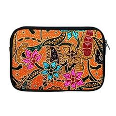 Colorful The Beautiful Of Art Indonesian Batik Pattern(1) Apple Macbook Pro 17  Zipper Case
