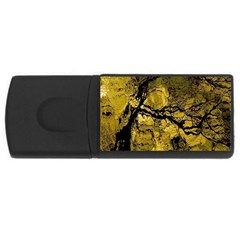 Colorful The Beautiful Of Traditional Art Indonesian Batik Pattern Rectangular Usb Flash Drive by BangZart