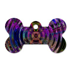 Color In The Round Dog Tag Bone (two Sides) by BangZart