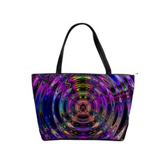 Color In The Round Shoulder Handbags by BangZart