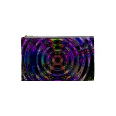 Color In The Round Cosmetic Bag (small)  by BangZart