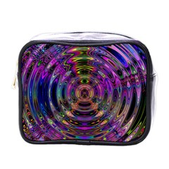 Color In The Round Mini Toiletries Bags by BangZart