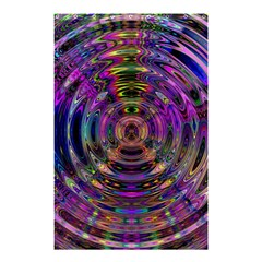 Color In The Round Shower Curtain 48  X 72  (small)