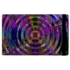 Color In The Round Apple Ipad 2 Flip Case by BangZart